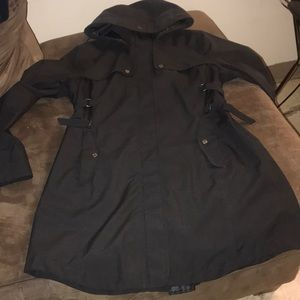Long, athleta coat